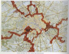 """The Aimless Reader """"New Babylon Paris"""" Situationist International Situationist International, Guy Debord, City Maps, Land Art, Diagram, Abstract, Instagram Posts, Site Analysis, Making Space"""
