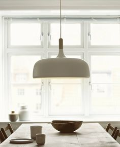 The The Acorn Pendant Lamp is a great decorative element. Its soft curvature add. - The The Acorn Pendant Lamp is a great decorative element. Its soft curvature add… The The Acorn - Kitchen Lighting Over Table, Dining Table Lighting, Kitchen Pendant Lighting, Kitchen Pendants, Dining Room Table, Pendant Lights, Dining Rooms, Dining Table Pendant Light, Dining Light Fixtures