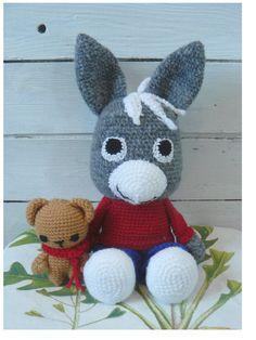 Für Kinder - Trotro mit Teddy - ein Designerstück von ta-sign bei DaWanda