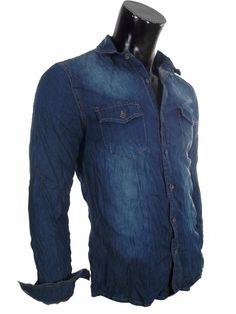 Camicia uomo Jeans Slavata
