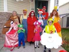 Welcome to the Krazy Kingdom: Halloween Carnival - Mario Brothers Potter Style