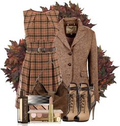 """Plaid!"" by snowshoekittens on Polyvore"