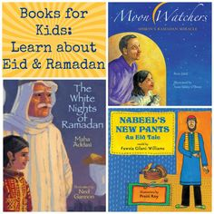 Use these children's books about Ramadan to teach your kids about Islam, and how Eid is celebrated.