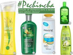 Shampoos baratos para cabelos oleosos: seleção de shampoos eficazes para combater a oleosidade dos fios sem pesar no bolso. Pra usar e se apaixonar!
