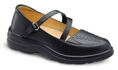 Dr. Comfort Diabetic Shoe: Women's Mary Jane in Black, burgundy and beige. Diabetic Insoles, extra-depth, extra-wide #diabeticshoe
