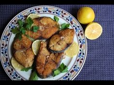Jamaican Fried King Fish (+playlist)