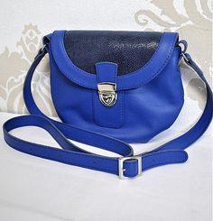 Genuine leather crossbody Lujza handbag  from Dajana Rodriguez by DaWanda.com