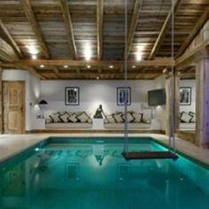 <3 indoor pool swing! scooore!