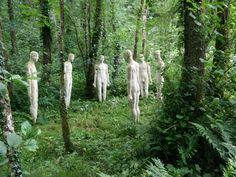 Broomhill, Devon Wall Sculptures, Sculpture Art, Nothing But Flowers, Art Jokes, Film Inspiration, Beautiful Mind, Garden Statues, Outdoor Art, Art Plastique