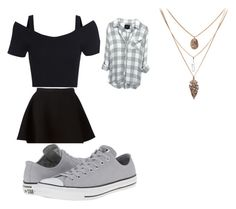 """Untitled #17"" by johanne-jc on Polyvore featuring Neil Barrett and Converse"