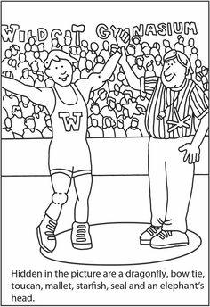 sports hidden picture 4