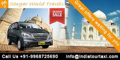 Experience Tours provide wonderful service of Toyota Innova Hire in Delhi or Car Rental Delhi Tour for a family cluster with all luxury facilities and reasonable rates. If you're thinking to go to any post traveler destinations from  Delhi NCR then your dream can true with the  honorable and trusty tour & travels firms in capital of India. we tend to perceive the emotions of shoppers and apprehend what they need, that is why india tour taxi may be a leading