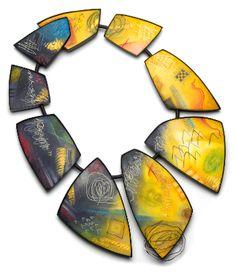 WEEK 8--BALANCE: SymmetryAssymmetry. SHOWCASE  Kathleen Dustin - polymer clay