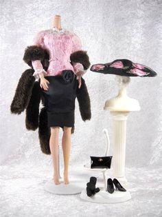 Beekman Place Barbie Retro Dress New York Collection Fits Fashion Royalty #HamiltonToys