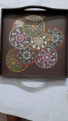 Dot Painting Tools, Rangoli Colours, Mandala Dots, Mandala Drawing, Crafts To Make And Sell, Beautiful Paintings, Pottery, Hand Painted, Drawings