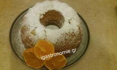 Το έφτιαξα πάλι και μοσχομύρισε ολο το σπίτι !!! Από τα ωραιότερα κέικ και πιο εύκολα !!! Greek Desserts, Greek Cooking, Doughnut, Sweet Recipes, Deserts, Pudding, Cookies, Food, Greek Beauty