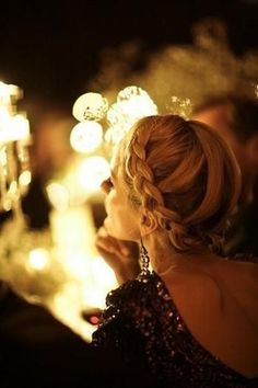 50 Gorgeous Holiday Hairstyles from Pinterest