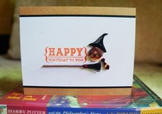 Lulu's Quilling Lab: A Harry Potter Birthday Card