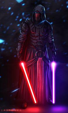 Darth Revan, Sith Lord, Kotor, Star Wars: Knights of the Old Republic Star Wars Jedi, Rpg Star Wars, Star Wars Darth Revan, Darth Revan Lightsaber, Darth Nihilus, Star Wars Lightsaber, Star Trek, Star Wars Fan Art, Star Wars Logos