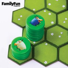 Battle Sheep: While families were initially drawn to this entry for its cheeky name, its quick, strategic game play was what kept them enthralled. Players move their flocks across the board in an attempt to claim the most pasture -- and block their opponents from doing the same.