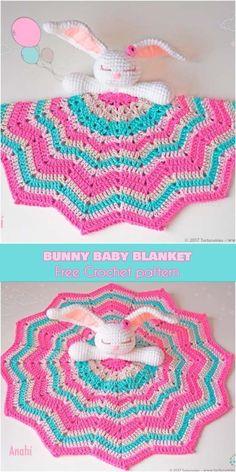 Ami Bunny Baby Blanket [Free Crochet Pattern]
