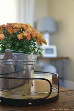 A Burst of Beautiful: Our 2015 Fall Home Tour