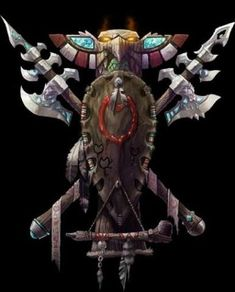 Tauren Crest from World of Warcraft