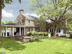 home exterior stone farm house | Home Exterior ~ Stone ~ Farmhouse