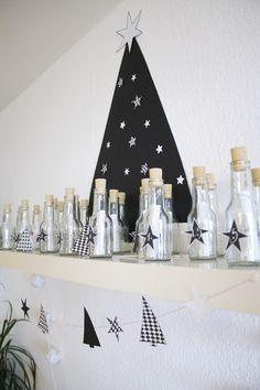 DIY Advent calendar in a bottle