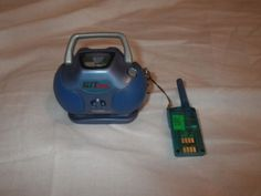 2001 Tiger Electronics Hit Clips Boom Box w/3 Hit Clip Music Chips, FM Cartridge #TigerElectronics