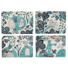 Beekeeping placemats from Lush Designs