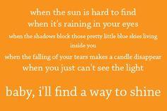 Shine - Keith Urban