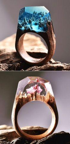 Secret Wood | The Carrotbox Jewelry Blog - rings, rings, rings! | Bloglovin.
