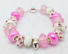 Pink Pig Bracelet - Friendship Gift for Your Bestie - Pretty and Feminine Accessory. $15.00, via Etsy.
