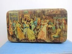 Thorne's Toffee Tin Dickensian Memories by DearViolette on Etsy, $14.00