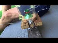 RECICLAGEM - Filetadora de garrafa PET 1 - YouTube