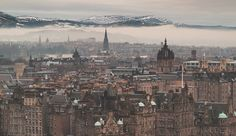 Edinburgh is a city of shifting light, of changing skies, of sudden vistas. A city so beautiful it breaks the heart again and again.