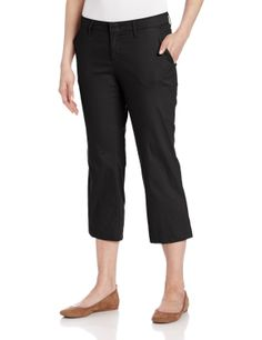 Dickies Women's Stretch Twill Capri           ($24.99) http://www.amazon.com/exec/obidos/ASIN/B00B1M0QKK/hpb2-20/ASIN/B00B1M0QKK Very nice capri! - It's not like they're falling off but a size smaller would look more flattering. - I like these pants, they fit well except the waist is a little tight.