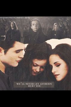 We'll never let anyone hurt you - Bella quote fan edit You don't want to get in the way of a momma and her child