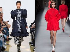 From left: J.W. Anderson Spring 2016; Fendi Spring 2016