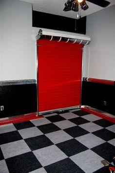 Roll Up Closet Door Home Decor