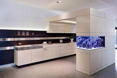 Um lugar criativo para um aquário!