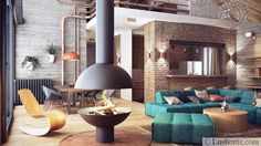 interior design and decorating with pipes
