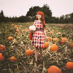 Pumpkins & Plaid - A
