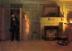 Love's Ambush - William Henry Lippincott - (American: 1849-1920)