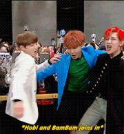 Jungkook, J-Hope and BamBam ❤ #BTS #방탄소년단 || #GOTBANGTAN