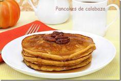 Pancakes de calabaza Recetas Bonaire