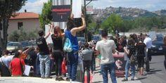 NOmattatoio contro il macello di Ferentino: ecco il resoconto della doppia protesta