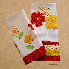 Sewing Appliques, Applique Patterns, Applique Designs, Sewing Crafts, Sewing Projects, Dresden Quilt, Kitchen Kit, Fabric Storage Boxes, Hanging Flower Wall