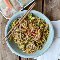 Food in London + Chinese Cabbage Noodle Bowl